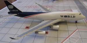 World B747-400F N740WA