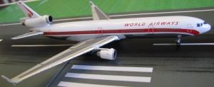 World MD-11 N803DE